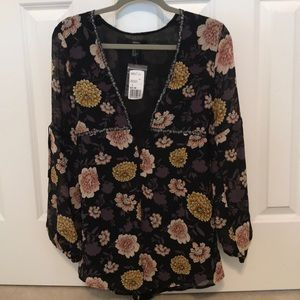 Forever 21 floral romper.  NWT size S